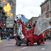 Annual Artocade art car festival in Trinidad district