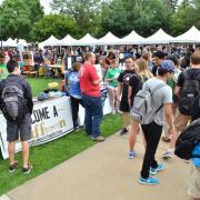 Be Involved Fair at CU Boulder