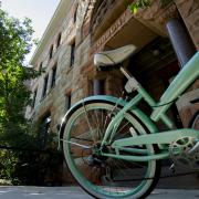 A bike on campus.