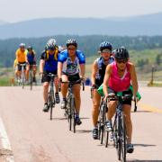 Cyclists take to the road to raise funds for arts and sciences scholarships