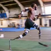 Blake Leeper sprinting