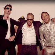 Blurred Lines music video featuring Robin Thicke, T.I. and Pharell Williams
