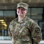 AROTC Cadet Brooke Robinson