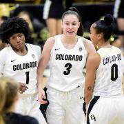 Colorado women's basketball players