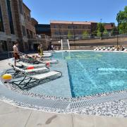 The Buff Pool at the Student Recreation Center