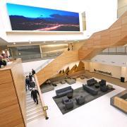 Atrium inside CASE building