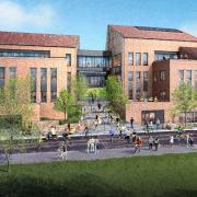 CASE building rendering