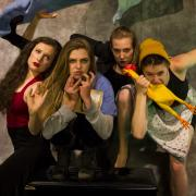 'Catapult' choreographers and dancers pose for photo