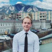 Chad Brokaw, Senior Class Council President