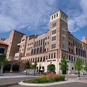 outside view of the CU Boulder Champions Center