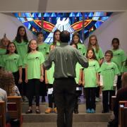 A performance by the Boulder Children's Chorale