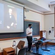 professor teaching class