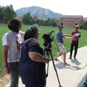 Young students create film for Lens on Climate Change summer program