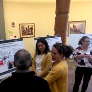 Attendees mingle at Climate Change & Health Symposium