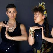 Climbing PoeTree's Alixa Garcia and Naima Penniman