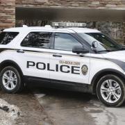 A CU Boulder Police Department SUV