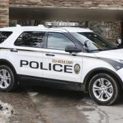 CUPD police vehicle