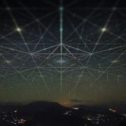 Cosmic geometry illustration