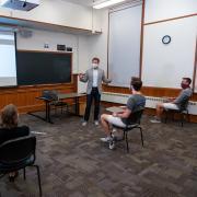A COVID-ready classroom