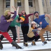 CU Boulder dance troupe