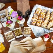 CU Events Planning and Catering spread