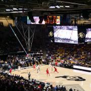 CU men's basketball team plays at home