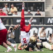 CU Buffs and Nebraska on the football field