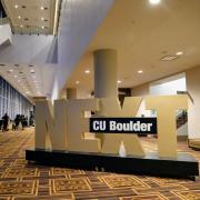 CU Boulder Next sign