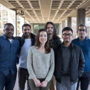 Photo of six students who are members of the Volt Vision team