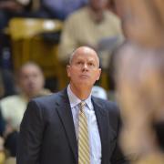 CU men's basketball coach Kevin Boyle