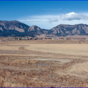 CU South, January 2010 - shows looking west towards the foothills