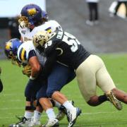 CU Buffs vs Washington Huskies; photo by Roger Carry