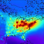 Map of emissions