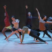 CU Contemporary Dance Works performs on stage