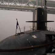The USS Blueback submarine