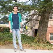 Mechanical engineering doctoral student David Pfotenhauer