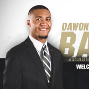 DaWon Baker welcome image