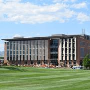 Aerospace Building on CU Boulder Campus.