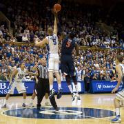 Duke University, University of Virginina basketball players Jan. 2012