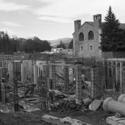 Porter Biosciences under construction in 1971