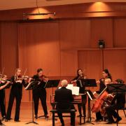 Early Music Ensemble performing on stage