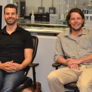 Alumni Tyler Huggins and Justin Whiteley, founders of Emergy Foods