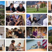 Collage of photos from across campus
