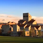 Engineering Center on campus
