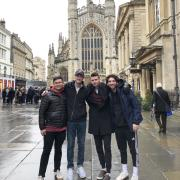 Buffs studying abroad in Bath, England