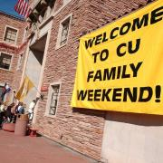 Families pour into the UMC during Family Weekend