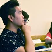 Students in First-Year Seminar on Ferguson