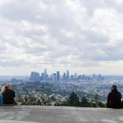 Business closures and recent rain contribute to Los Angeles' recent uptick in air quality.