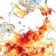 global warming map courtesy of NASA