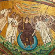 Mosaic in San Vitale Basilica, Ravenna, Italy